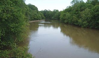 Obion, Tennessee - The Obion River near Obion