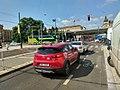 Ochranný jízdní pruh pro cyklisty, Florenc.jpg