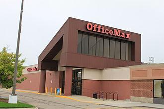 OfficeMax - An OfficeMax in Ann Arbor, Michigan.
