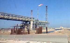 Energy in Egypt - Oil refining in Alexandria