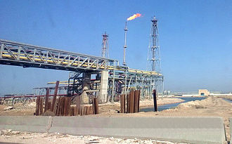 Energy in Egypt - Oil refining in Alexandria