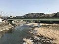 Oitagawa River and Onoya-Ohashi Bridge from Sekinan-Ohashi Bridge.jpg