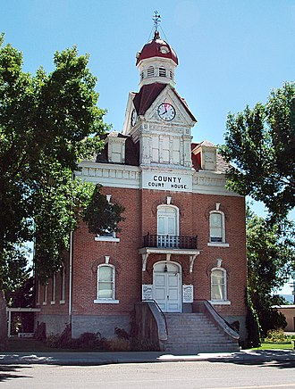 National Register of Historic Places listings in Beaver County, Utah - Image: Old Beaver County Ut courthouse