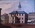 Old Brick Church, built 1712, demolished 1808 by unknown artist Old State House Museum, Boston, MA - IMG 6790.JPG