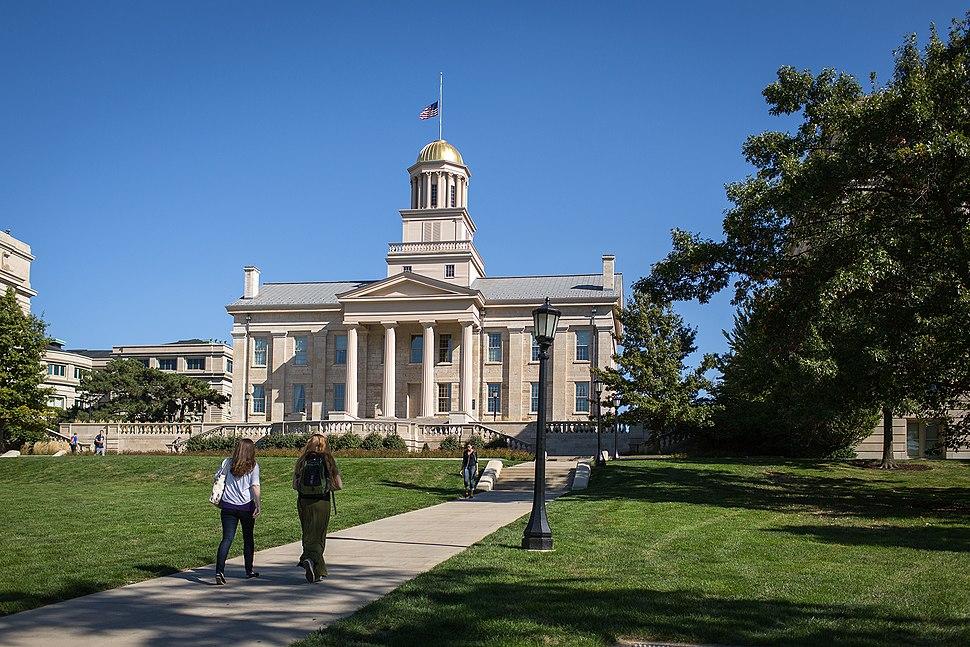 Old Capitol Iowa City 2013