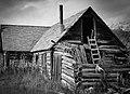 Old cabin, Carcross, Yukon (11003736916).jpg