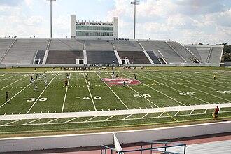 Oliver C. Dawson Stadium - Image: Oliver C Dawson Stadium