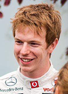 Oliver Turvey British race driver