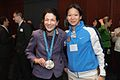 Olympia Snowe and Julie Chu.jpg