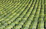 Olympic Stadium Munich - Rows of Seats, April 2019 -03.jpg