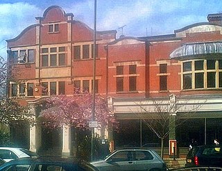 Olympic Studios cinema in Barnes, Richmond, London, England, formerly also used as a film and recording studio