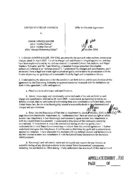 File:Omar Khadr\'s plea bargain.pdf - Wikimedia Commons