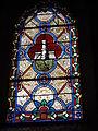 Onesse-et-Laharie (Landes) église, vitrail 11.JPG