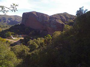 Sierras de Córdoba - Formation of rocks, in Ongamira Valley