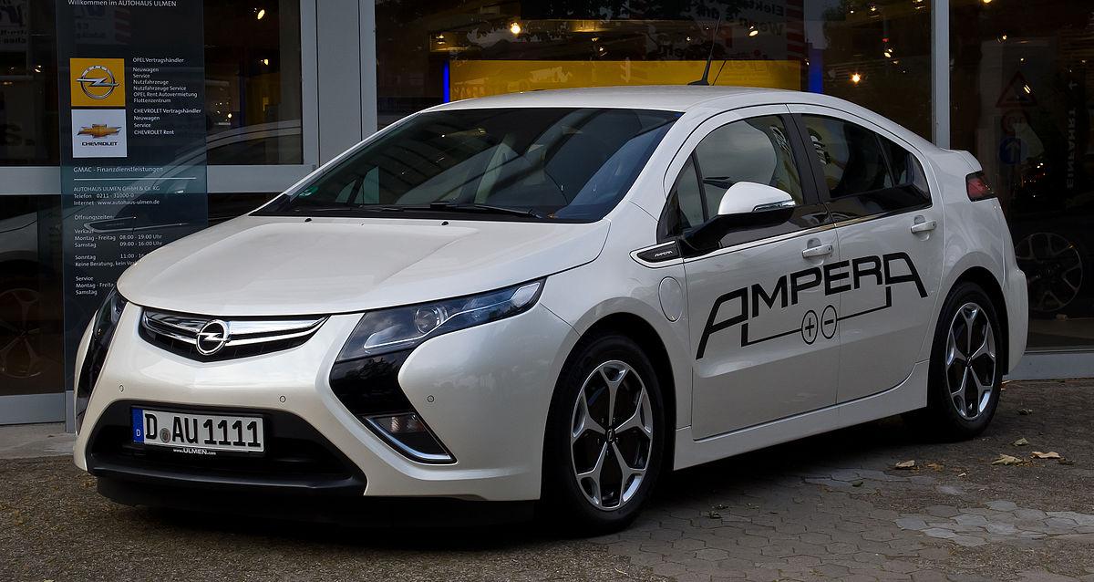 Opel Ampera – Wikipedia, wolna encyklopedia