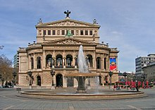 Alte Oper all'Opernplatz