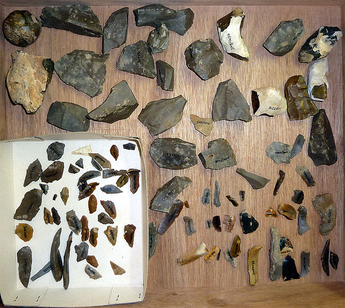 Mesolithic artefacts