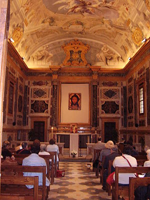 Oratory of St Thomas Aquinas, Florence - Interior with new altarpiece