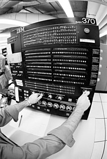 IBM System/370 Family of mainframe computers 1970-1990