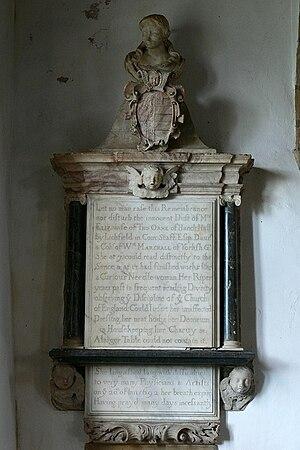 Aston le Walls - Elizabeth Orme memorial