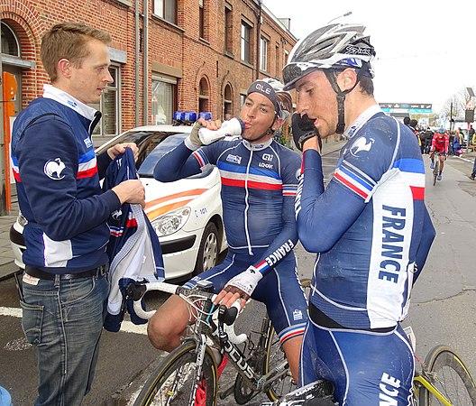 Oudenaarde - Ronde van Vlaanderen Beloften, 11 april 2015 (D01).JPG