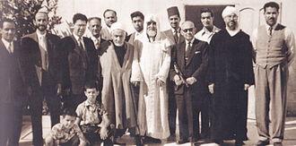 Omar Derdour - Derdour, second from the left