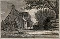 Oxford; distant view of the city from a farmhouse. Etching b Wellcome V0014231.jpg