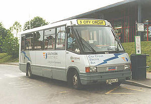 Optare MetroRider - Image: Oxford Electric Bus Optare Metro Rider