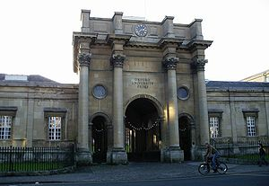 Walton Street - The front of the 1830 Oxford University Press building on Walton Street.