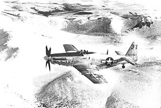 Alaskan Air Command - Alaskan Air Command P-51H 44-64461