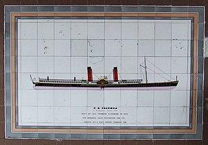 RMS Columba - Image: P.S. Columba geograph.org.uk 323723