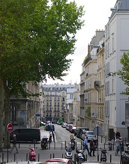 image illustrative de l'article Rue Bochart-de-Saron