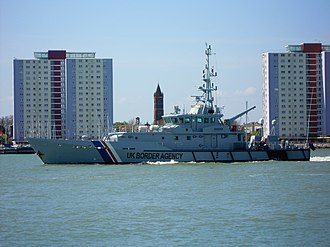 Border Force - Image: P19 HMRC Seeker Portsmouth Harbour