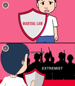 Proclamation No. 216 - PCOO Martial Law Cartoon Video Screen Capture