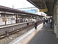 PL Fireworks in 2012 at Tondabayashi Station 01.jpg