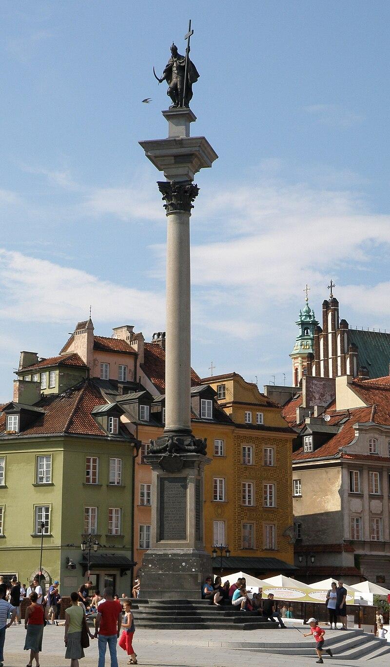 Kolumna Zygmunta III Wazyw Warszawie
