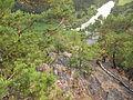 PP Třímanské skály, pohled na řeku dolů (002).jpg