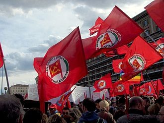Communist Refoundation Party - A PRC rally in Rome, 2007