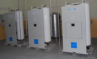 "Oxygen concentrator - Pressure swing adsorption medical oxygen generator ""R-OXY"" by RIFAIR Technical Systems"