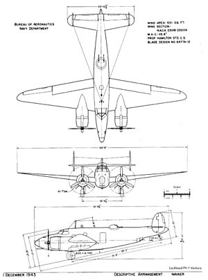 PV-1 BuAer 3 side view
