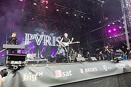 PVRIS play at Rock am Ring, 2018.
