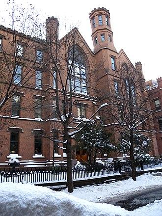 Packer Collegiate Institute - Image: Packer Collegiate 170 Joralemon jeh