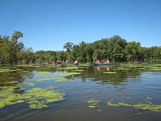 Upper Mississippi River National Wildlife and Fish Refuge - Paddling the Mississippi River