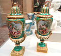 Pair of Vases, 1769, Sèvres Porcelain Manufactory, painted by Charles-Nicolas Dodin - Art Institute of Chicago - DSC09432.JPG