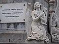 Pairs of angels, sculptures; Martyrs' Square - Place des Martyrs - Martelaarsplaats 6 (4039417327).jpg