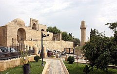 Palace of the Shirvanshahs - outside.JPG