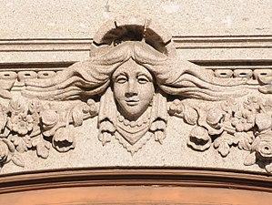 Mascaron (architecture)