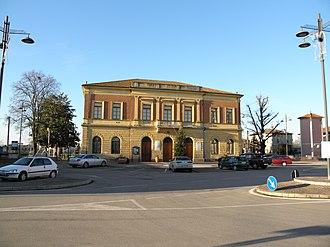 Calto - Palazzo (palace) Riminaldi, the town hall