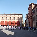 Palazzo Sersanti, processione Madonna del Piratello.jpg