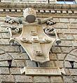 Palazzo piccolomini, siena, 02 stemma piccolomini 3.jpg